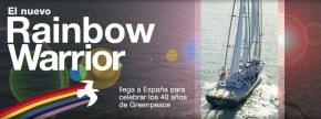 El Rainbow Warrior III arriba aBarcelona