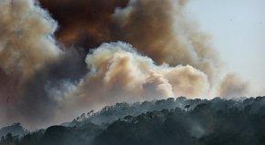 Un incendi arrasa el massís del´Ardenya