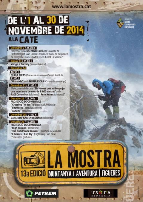 Mostra de Cinema de Muntanya i Aventura 2014