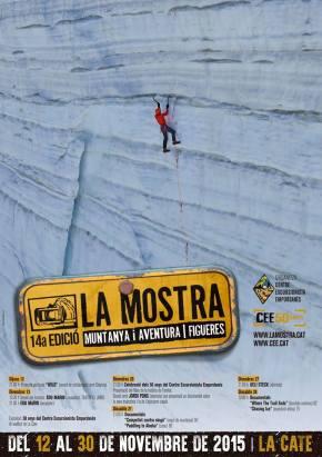 14a Mostra Cinema Muntanya i Aventura, a Figueres(2015)