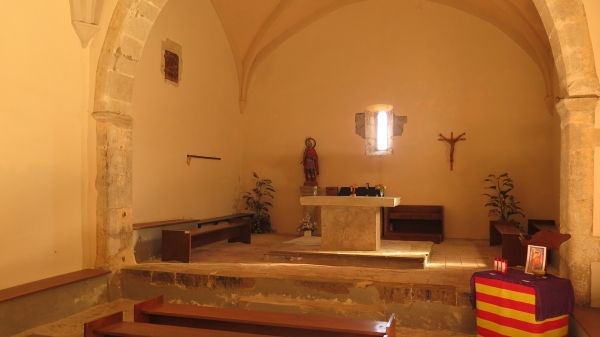 Santuari Sant Ferriol interior