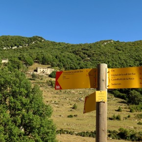 Ruta 36. Oix a Sant Andreu i Puig deBestracà.