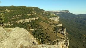 Ruta Rupit a la cinglera Casadevall, salt de Sallent i Sant Joan deFàbregues