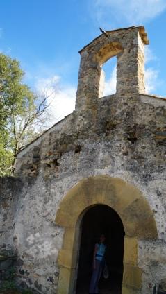 Detall ermita Sant Medir